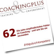 Zehn Fehler im Coaching - Coaching-Psychologie vom Profi
