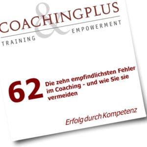 Coaching Ratgeber PDF: 10 Fehler im Coaching