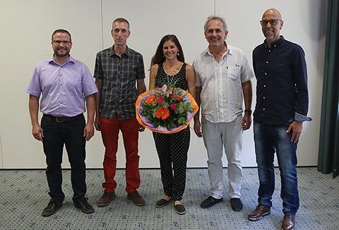 Diplomfeier Betrieblicher Mentor August 2018