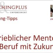 Eidg. Betrieblicher Mentor: Ein Beruf mit Zukunft