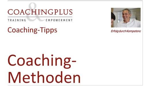 Coaching Methoden: Tools für die Qualitätssteigerung