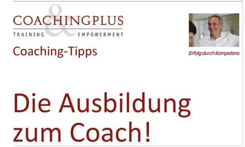 Über 20 Jahre Berufserfahrung. Top Coaching-Ausbildung.