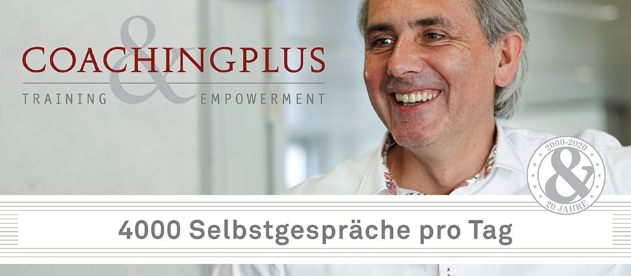4000 Selbstgespräche pro Tag - Coachingplus Video