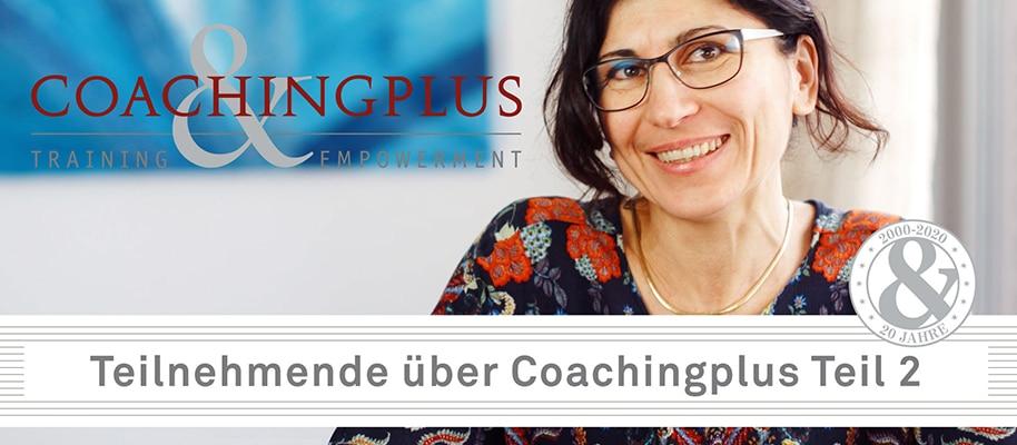 Studierende über Coachingausbildung Teil 2