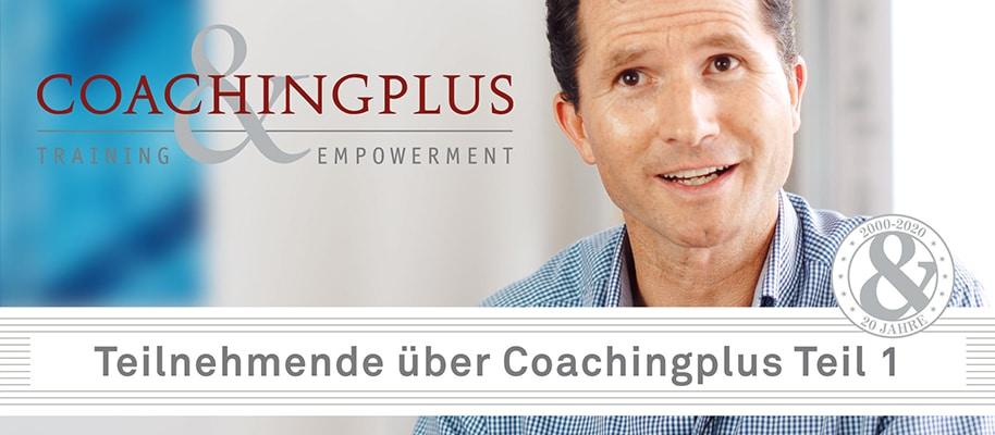 Teilnehmende über Coachingplus - Coachingplus Video