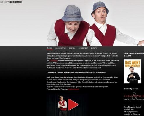 Webseite von Peter Wild