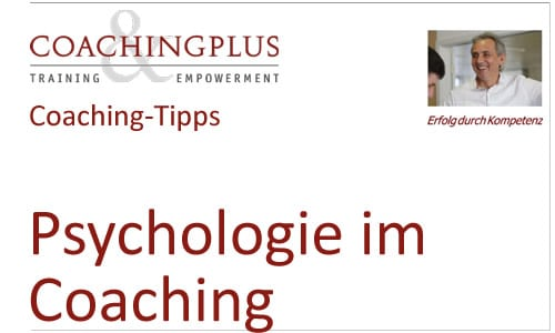 Psychologie im Coaching