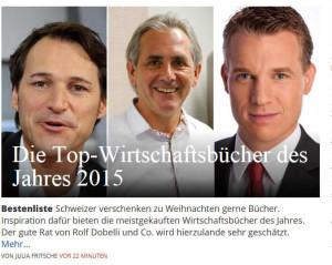 Coaching-Sachbuch, Top Wirtschaftsbuch des Jahres 2015