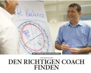 Den richtigen Coach finden